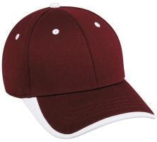 BC-601-Maroon/White-Adult