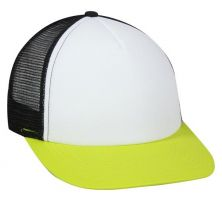 FOM-100-White/ Black/ Neon Yellow-Adult