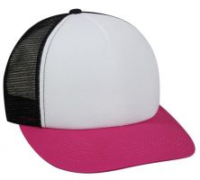 FOM-100-White/ Black/ Fuchsia-Adult