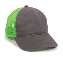 FWT-130-Charcoal/Neon Green-One Size Fits Most