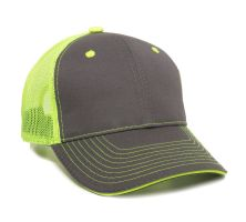 GWT-101M-Charcoal/Neon Yellow-Adult