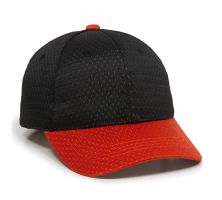 JM-123-Black/Red-Adult