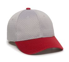 JM-123-Light Grey/Red-Youth