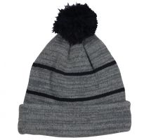 KNF-100-Heathered Grey/Navy-Adult