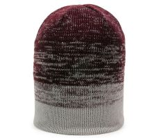 KNH-100-Maroon/Lt. Grey-One Size Fits Most
