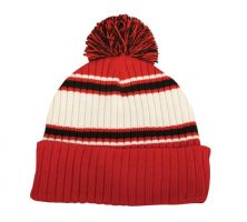 KNW-625-Red/Black/White-Adult