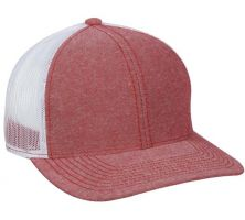 MBW-800CB-Heathered Red/ White-Adult