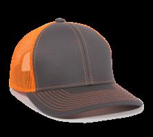 MBW-800SB-Charcoal/Neon Orange-Adult