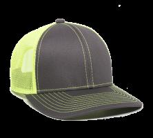 MBW-800SB-Charcoal/Neon Yellow-Adult