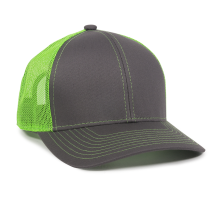 MBW-800SB-Charcoal/Neon Green-Adult
