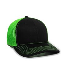 OC771-Black/Neon Green-One Size Fits Most