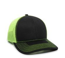 OC771-Black/Neon Yellow-One Size Fits Most