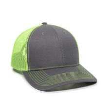 OC771-Charcoal/Neon Yellow-One Size Fits Most