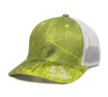 RTF-100M-Realtree Fishing Dark Lime/White-One Size Fits Most