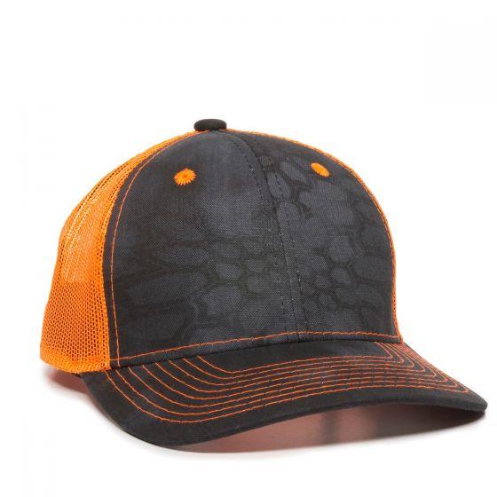 CNM-100M-Kryptek® Typhon™/Neon Orange-One Size Fits Most