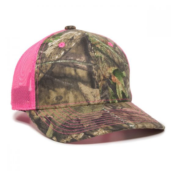 CNM-100M-Mossy Oak® Break-Up Country®/Neon Pink-Ladies