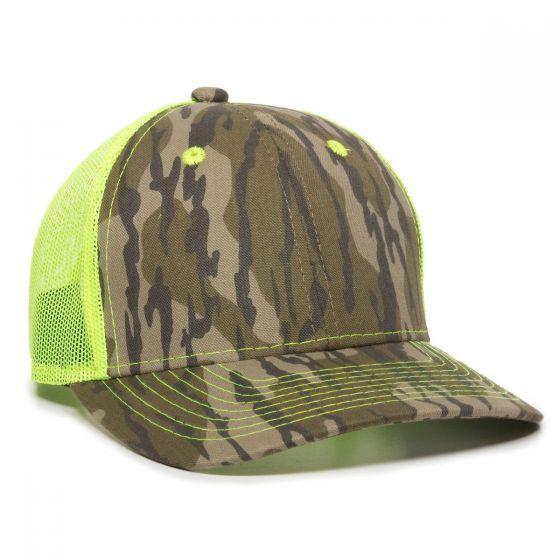CNM-100M-Mossy Oak® Original Bottomland®/Neon Yellow-One Size Fits Most