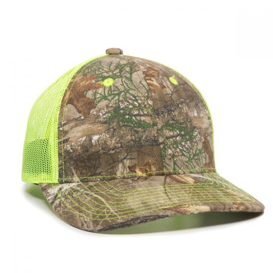 CNM-100M-Realtree Edge™/Neon Yellow-One Size Fits Most