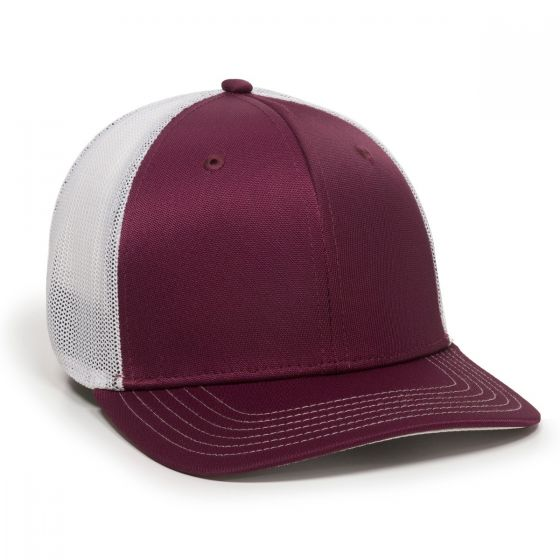 CT120M-Maroon/White-M/L