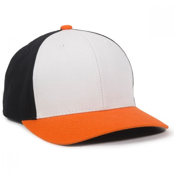 CTN50-White/Black/Orange-Adult