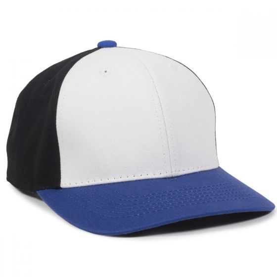 CTN50-White/Black/Royal-Youth