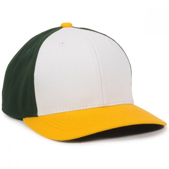 CTN50-White/Dark Green/Gold-Youth