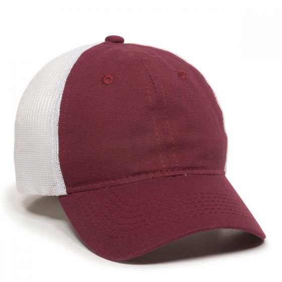 FWT-130-Burgundy/White-Adult