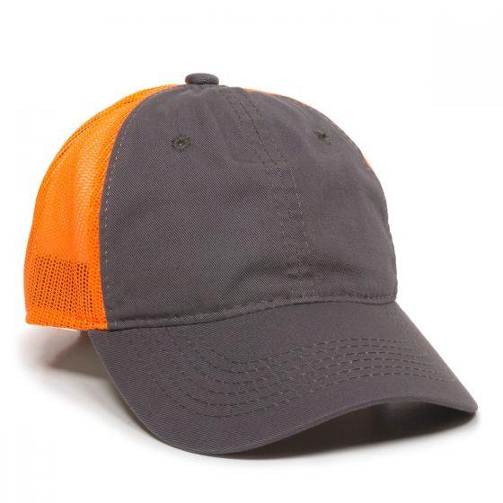 FWT-130-Charcoal/Neon Orange-Adult