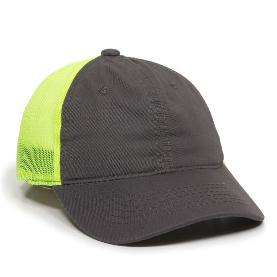 FWT-130-Charcoal/Neon Yellow-Adult