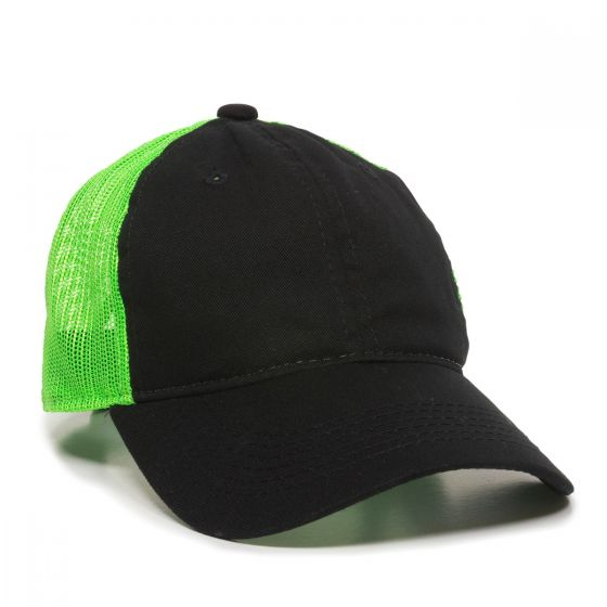 FWT-130-Black/Neon Green-One Size Fits Most