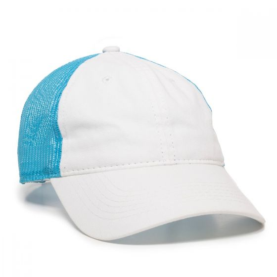 FWT-130-White/Neon Blue-One Size Fits Most