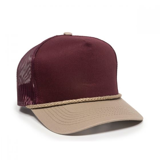 GL-155-Maroon/Tan-Adult
