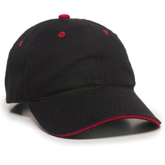 GL-645-Black/Red-Adult