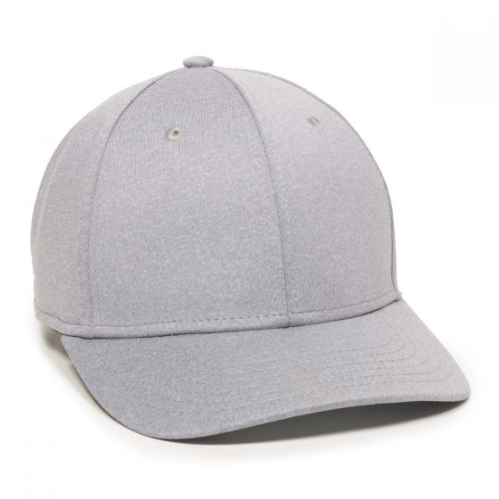 HTR-100-Heathered Grey-Adult
