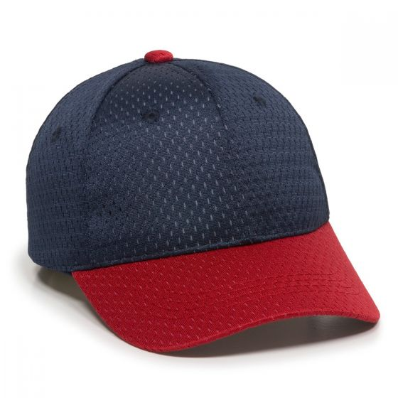 JM-123-Navy/Red-Adult