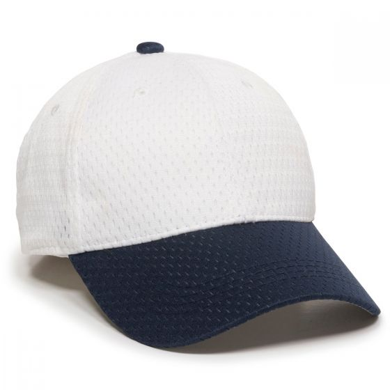JM-123-White/Navy-Adult