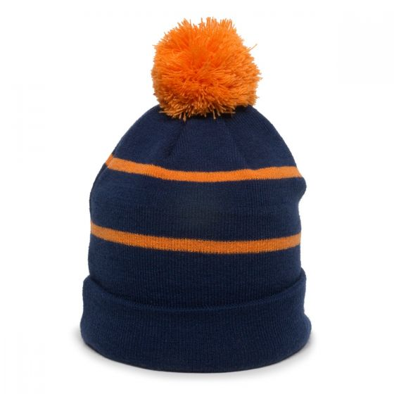 KNF-100-Navy/Orange-One Size Fits Most