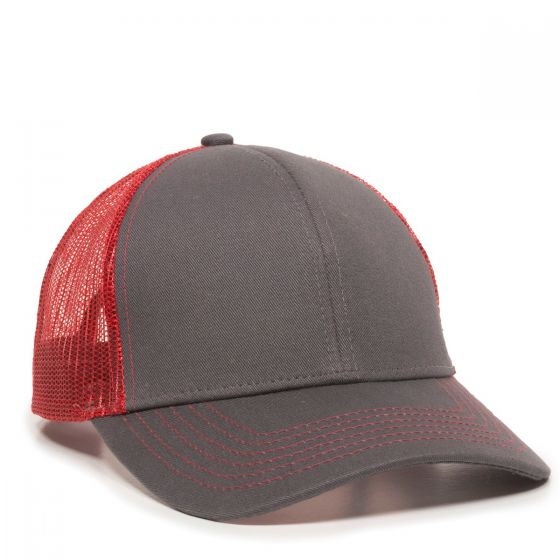MBW-600-Charcoal/Red-Adult