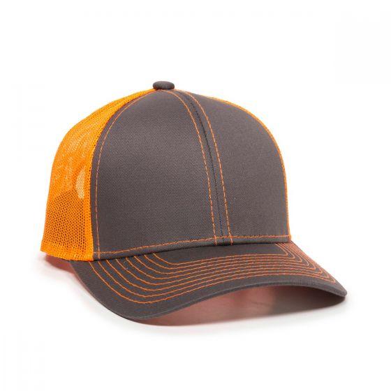 MBW-800-Charcoal/Neon Orange-Adult