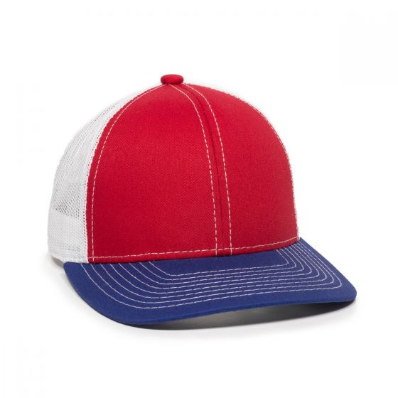 MBW-800-Red/White/Royal-One Size Fits Most