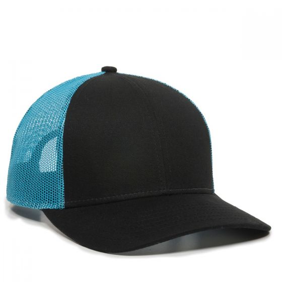 OC770-Black/Neon Blue-One Size Fits Most