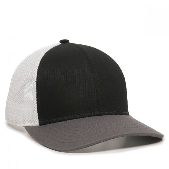 OC770-Black/White/Charcoal-One Size Fits Most