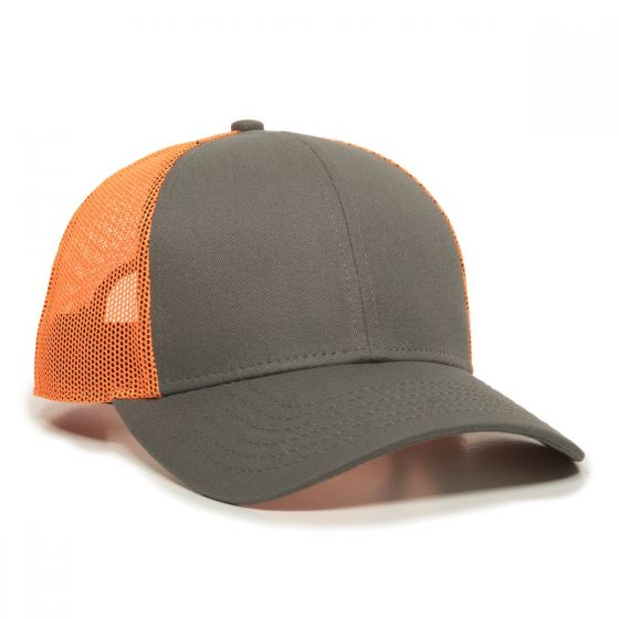 OC770-Charcoal/Neon Orange-One Size Fits Most