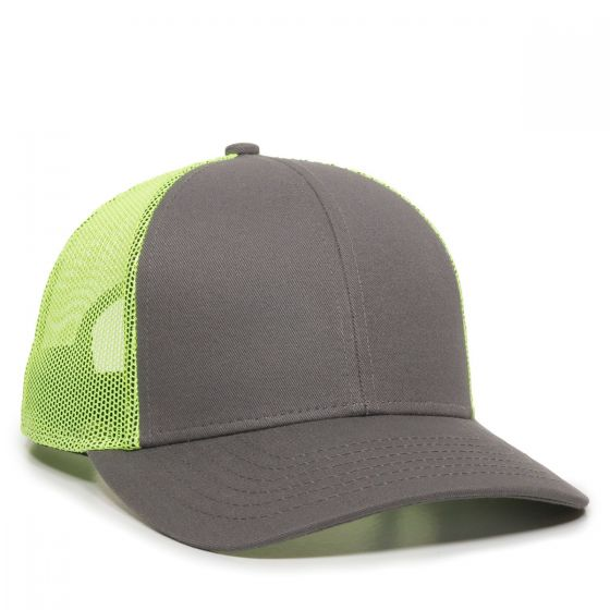OC770-Charcoal/Neon Yellow-One Size Fits Most