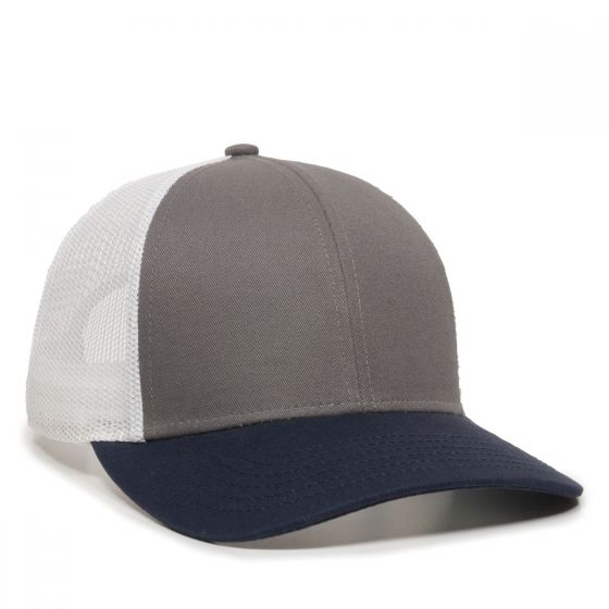 OC770-Charcoal/White/Navy-One Size Fits Most