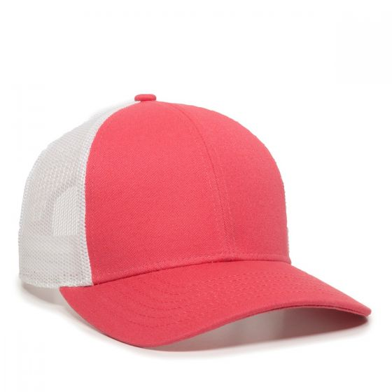 OC770-Coral/White-One Size Fits Most