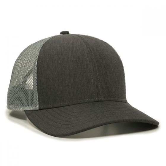 OC770-Heathered Charcoal/Grey-One Size Fits Most