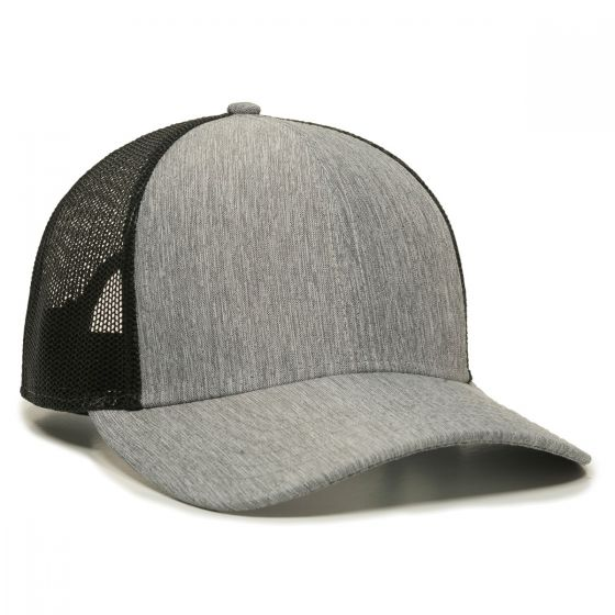 OC770-Heathered Grey/Black-One Size Fits Most