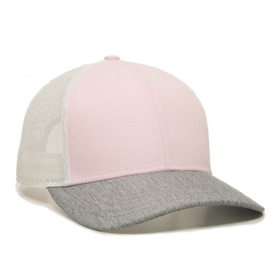OC770-Pink/White/Heathered Grey-One Size Fits Most