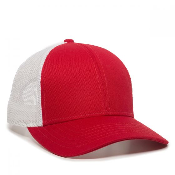 OC770-Red/White-One Size Fits Most